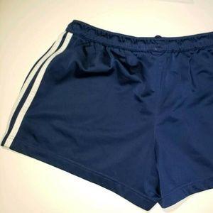 Adidas Women's Navy Blue Draw String Shorts Size L